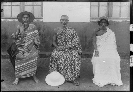 Die Aeltesten Togo 1906 © Heinrich Basten