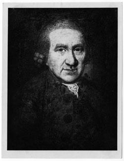 (Vermutlich) Friedrich Georg Göthé (1657-1730). Fotografie nach einem verschollenen Porträt. © Freies Deutsches Hochstift / Frankfurter Goethe-Museum