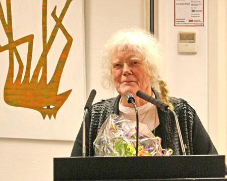 Liesel Metten. Die Ausstellung ist der Beginn der fünfteiligen Retrospektive über die rheinhessische Künstlerin zum 80. Geburtstag.  Foto: Heike v. Goddenthow © atelier-goddenthow