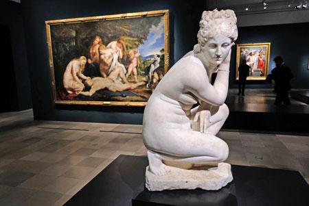 """Ausstellungsansicht """"Rubens. Kraft der Verwandlung""""  © Foto: Heike v. Goddenthow"""
