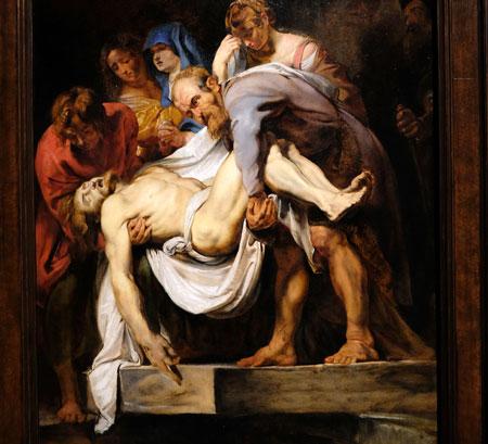 Peter Paul Rubens, Die Grablegung Christi (um 1612) © Foto: Heike v. Goddenthow