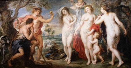Peter Paul Rubens (1577 1640) Das Urteil des Paris Um 1639 Öl auf Leinwand 199 cm x 381 cm Museo Nacional del Prado, Madrid © Foto: Diether v. Goddenthow