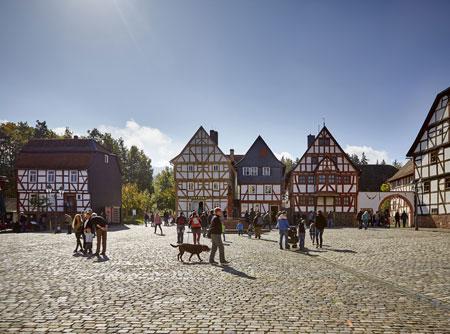 Ab dem 1. März können Museumsbesucher wieder täglich einen Ausflug in die hessische Vergangenheit unternehmen. Foto: Jens Gerber