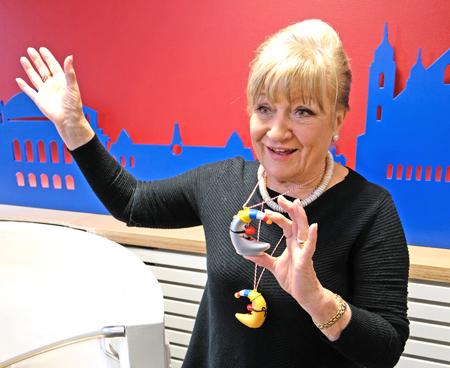 Margit Sponheimer soll für ihre großen Verdienste um die Landeshauptstadt zur Mainzer Ehrenbürgerin ernannt werden. © Archivbild 2017: Diether v. Goddenthow