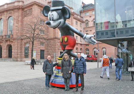 MCV-Wagenbauer Dieter Wenger, Dr. Birgit Heide, Direktorin Landesmuseum Mainz und Uwe Leitermann, Geschäftsführer mainzplus CITYMARKETING © Agentur Bonewitz, Foto: Michael Sowada
