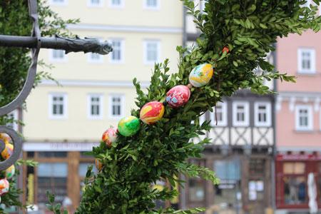 Ostern im Freilichtmuseum Hessenpark. Foto: Lena Schmidt