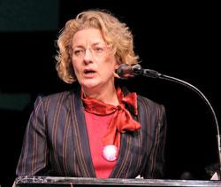 Dr. Annette Ludwig, Direktorin des Gutenberg-Museums. © Foto: Diether v. Goddenthow