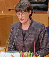 Kulturdezernentin Marianne Grosse. Foto: Diether v. Goddenthow