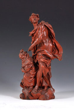 Peter Heinrich Hencke - Allegorie des Windes.  Bild © Landesmuseum Mainz