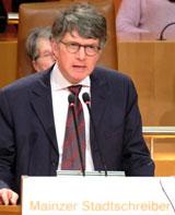 Patrick Bahners, Kulturkorrespondent und Literaturkritiker der Frankfurter Allgemeinen Zeitung. Foto: Diether v. Goddenthow