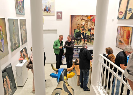 G21, gallery in der Taunusstrasse 19. © Foto: Diether v. Goddenthow
