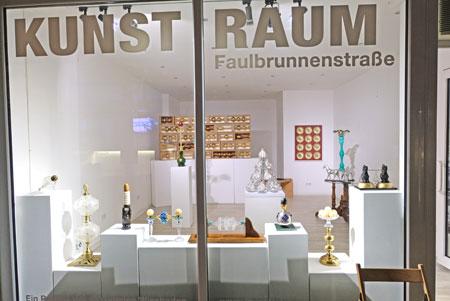 Kunstraum der Interessengemeinschaft der Galerien (IG Galerien)  in der Faulbrunnenstrasse. © Foto: Diether v. Goddenthow
