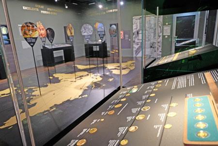 Gold. Schätze in der Deutschen Bundesbank. Eine Sonderausstellung im Geldmuseum vom 11.04.2018 bis 30.09.2018. © Foto: Diether v. Goddenthow