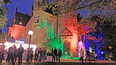 Illumination ums Liebieghaus Skulpturenmuseum. © Foto: Diether v. Goddenthow