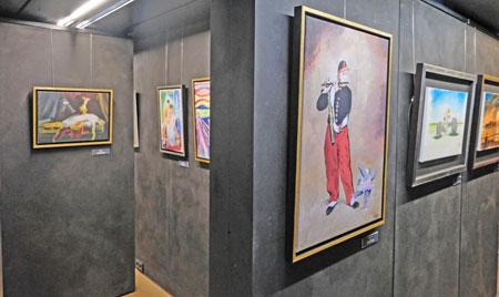 Ausstellungs-Impression. © Foto: Diether v. Goddenthow