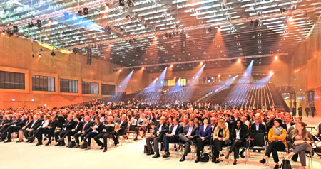 Feier zur Eröffnung des RheinMain CongressCenter am 13.04.2018.  © Foto: Diether v. Goddenthow