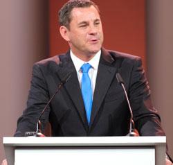 Oberbürgermeister Sven Gerich. © Foto: Diether v. Goddenthow