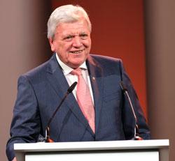 Ministerpräsident Volker Bouffier. © Foto: Diether v. Goddenthow