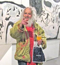 Max Weinberg war selbst ein Kunstwerk. Archivbild v. 2.2.2016  © Foto: Heike  v. Goddenthow