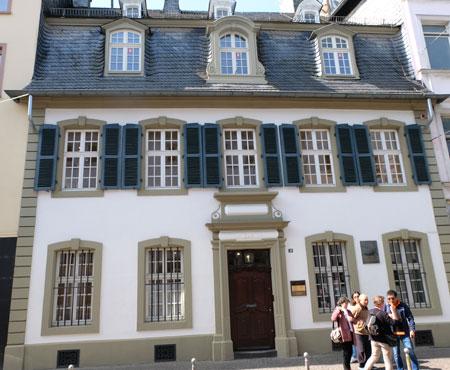 Museum Karl Marx Haus in Trier.  © Foto: Diether v. Goddenthow