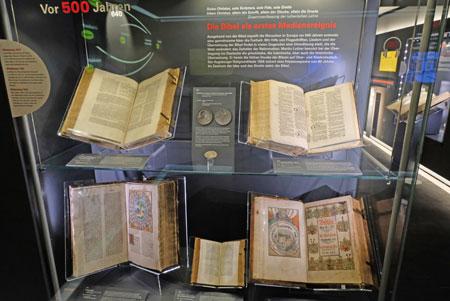 """""""Reise in die Welt der Bibel"""" im Erlebnismuseum Bibelhaus. © Foto: Diether v. Goddenthow"""