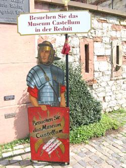 Museum Castellum, Kasteler Museumsufer - 55252 Mainz-Kastel. © Foto: Diether v. Goddenthow
