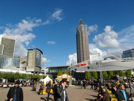 Impression der Frankfurter Buchmesse . © Foto: Diether v. Goddenthow