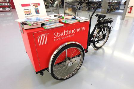 Die Veranstaltung findet statt am Montag, 14. Mai 2018, um 19.30 Uhr in der Stadtbücherei Frankfurt, Hasengasse 4, 60311 Frankfurt am Main. © Foto: Diether v. Goddenthow