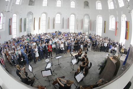 Pulse of Europe Paulskirche. © Stadt Frankfurt am Main – Hauptamt und Stadtmarketing