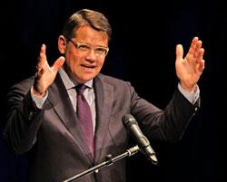 Kunst- und Kulturminister Boris Rhein. Foto: Diether v. Goddenthow