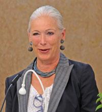 Dr. h. c. Beate Heraeus, Präsidentin der Senckenberg-Gesellschaft.© Foto: Diether v. Goddenthow
