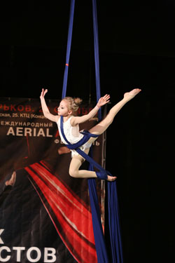 Anna Plutakhina © European Youth Circus