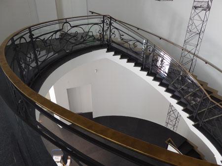Treppenhaus im PalaisPopulaire, Unter den Linden 5 © Foto:  Jutta Ziegler