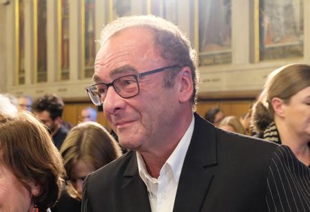 Robert Menasse während der Verleihung des Deutschen Buchpreises 2017 im Frankfurter Römer © Foto: Diether v. Goddenthow