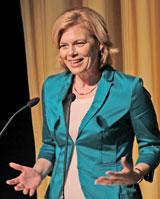 Bundesministerin Julia Klöckner. © Foto: Diether v. Goddenthow