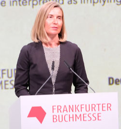 EU-Außenbeauftragte Federica Mogherini. © Foto: Diether v. Goddenthow