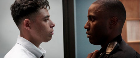 Anthony Ramos (li.) und John David Washington in MONSTERS AND MEN von Reinaldo Marcus Green © exground 31
