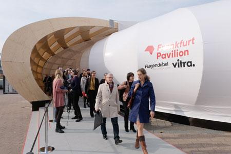 Der Frankfurt Pavilion,  © Foto: Diether v. Goddenthow