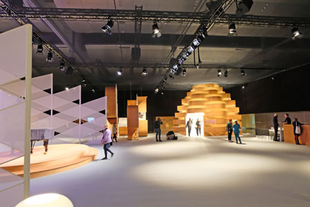 Impressionen vom Ehrengast-Pavillon. © Foto: Diether v. Goddenthow