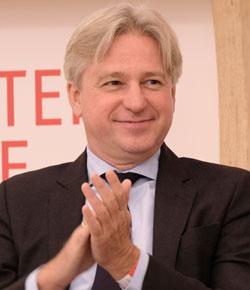 Juergen Boos, Direktor der Frankfurter Buchmesse.© Foto: Diether v. Goddenthow