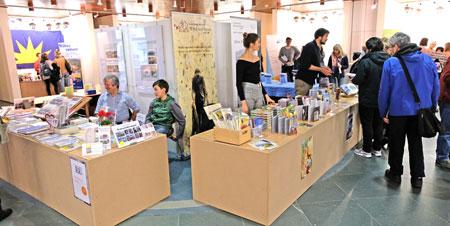 Mainzer Büchermesse. Archivbild.  © Foto: Diether v. Goddenthow