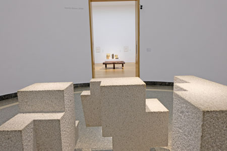 "Ausstellungs-Impression ""Eduardo Chillida - Architekt der Leere vom 16.Nov. - 10.März 2019. © Foto: Diether v. Goddenthow"