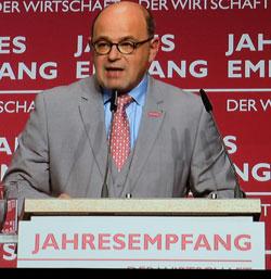 Hans-Jörg Friese, Präsident der Handwerkskammer Rheinhessen. © Foto: Diether v. Goddenthow