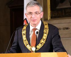 Oberbürgermeister Peter Feldmann. © Foto: Diether v. Goddenthow