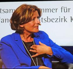 Malu Dreyer, Ministerpräsidentin des Landes Rheinland-Pfalz. © Foto: Diether v. Goddenthow