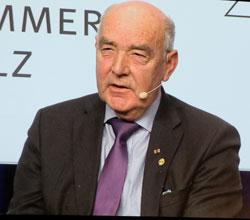 Ökonomierat Norbert Schindler, Präsident der Landwirtschaftskammer Rheinland-Pfalz. © Foto: Diether v. Goddenthow