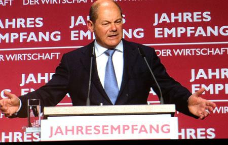 Olaf Scholz, Finanzminister und Vizekanzler. © Foto: Diether v. Goddenthow