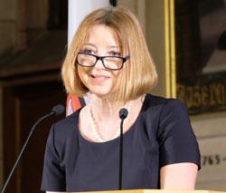 Urkrainische Konsulin Doyenne Alla Polyova,  © Foto: Diether v. Goddenthow