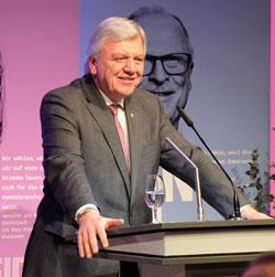 Ministerpräsident Volker Bouffier.© Foto: Diether v. Goddenthow