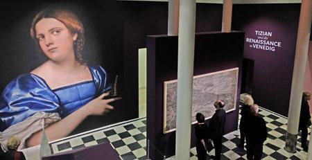 """Vom 13. Februar bis 26. Mai 2019 widmet sich das Städel Museum in der groß angelegten Sonderausstellung """"Tizian und die Renaissance in Venedig"""" mit über 100 Meisterwerken einem der folgenreichsten Kapitel der europäischen Kunstgeschichte: der venezianischen Malerei der Renaissance. © Foto: Diether v. Goddenthow"""